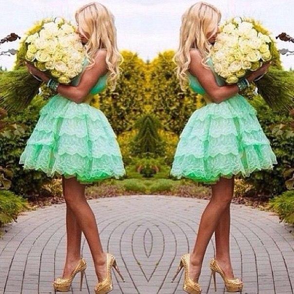 Büyüleyici Sevgiliye Nane Yeşil Kısa Dantel Balo Gelinlik Modelleri Mezuniyet Elbiseleri Mezuniyet Elbiseleri 2015 EA0071