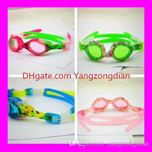 AF-1700s أطفال / أطفال نظارات السباحة / نظارات واقية للماء ومكافحة الضباب الأشعة فوق البنفسجية نظارات السباحة سيليكون الساخن بيع معدات السباحة
