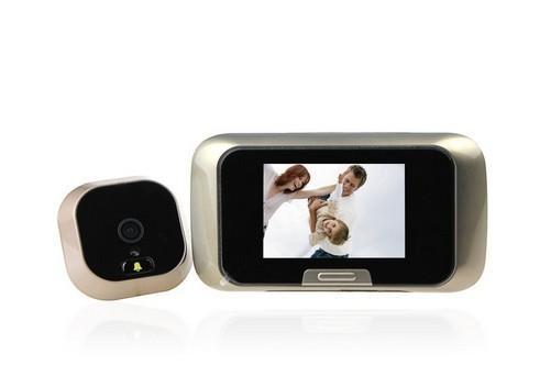 SDR Görüntülü Kapı Telefonu, Dijital Peephole Görüntüleyici, Çok Fonksiyonlu Video Kapı Zili, Kapı Kamera TF Kart Depolama