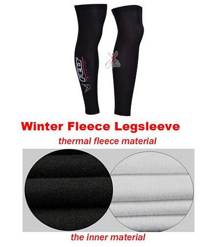 20197 FELT Winter thermal fleece cycling Legsleeve Ciclismo Leg warmers MTB L6