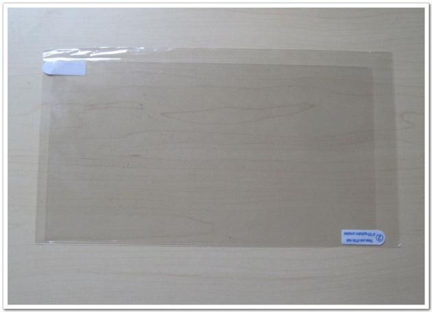 100pcs 10 pouces Universal LCD Clear Screen Protector PAS plein écran Film pour MID Tablet PC film de protection Taille 222.5x125.5mm