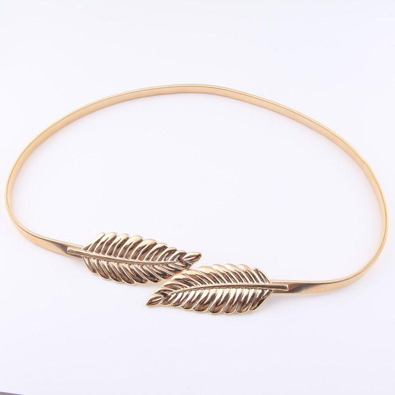 موضة جديدة حليف الساخن ورقة الفضة حزام البطن المجوهرات سلسلة لهدية للمرأة