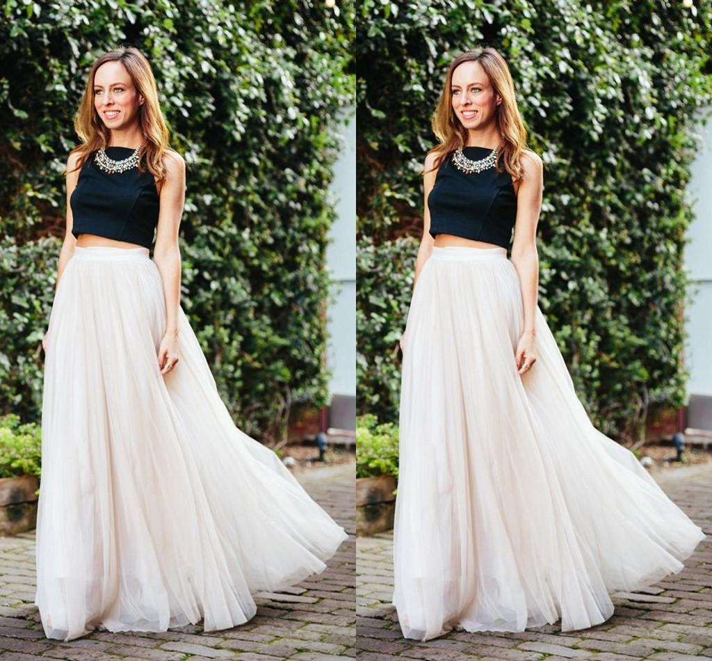 2017 Long Length Layered Tulle Tutu Skirts For Adults Custom Made A-Line Cheap Party Prom Skirts Women Clothing Cheap Free Shipping
