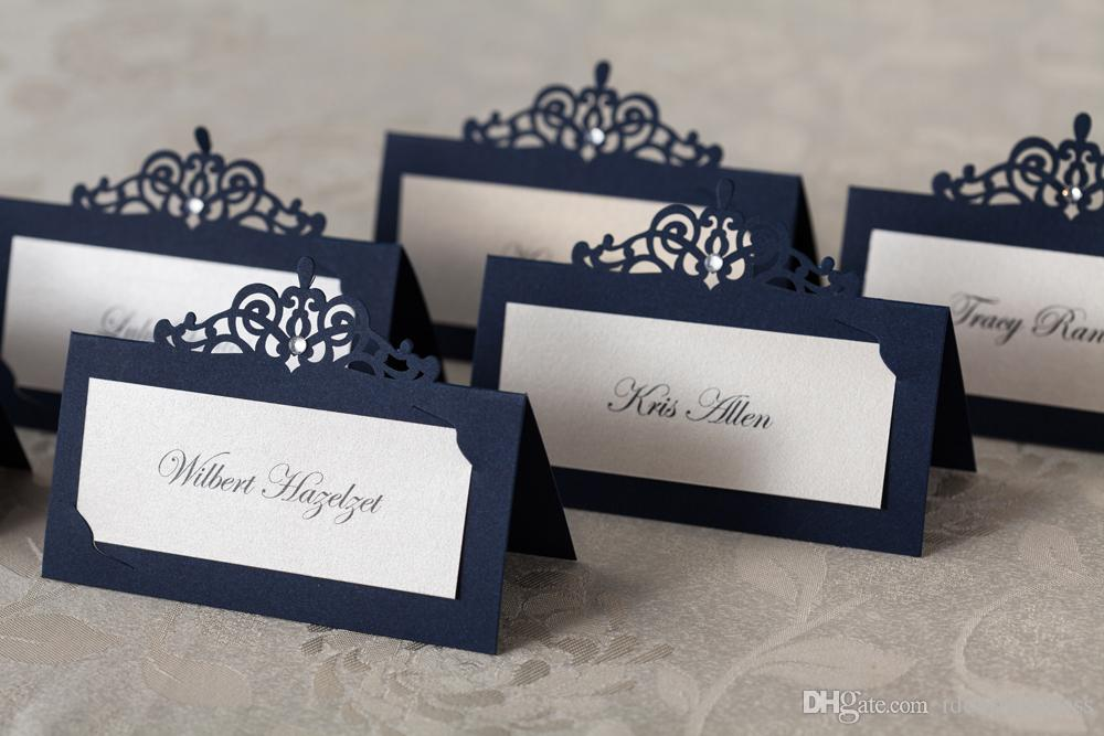 Wedding Table Card Seat Card Wedding Decorations Party Place Card ...