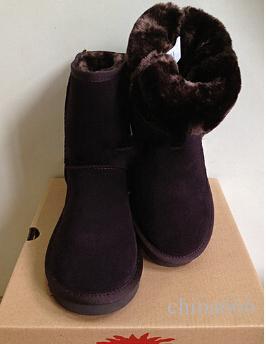 2017 Bezpłatny statek 8Colors New Fashion Australia Classic Krótki BGG Buty zimowe Prawdziwe skórzane damskie buty śniegu buty US Rozmiar 5-10