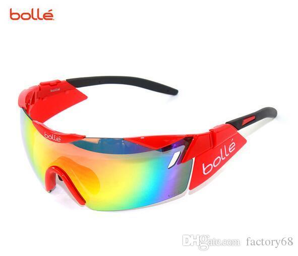 Importierte Italien BOLLE 6. Sinn 11840 professionelle Outdoor-Radfahren Bergsteigen Hd Golf Sonnenbrille zu Fuß