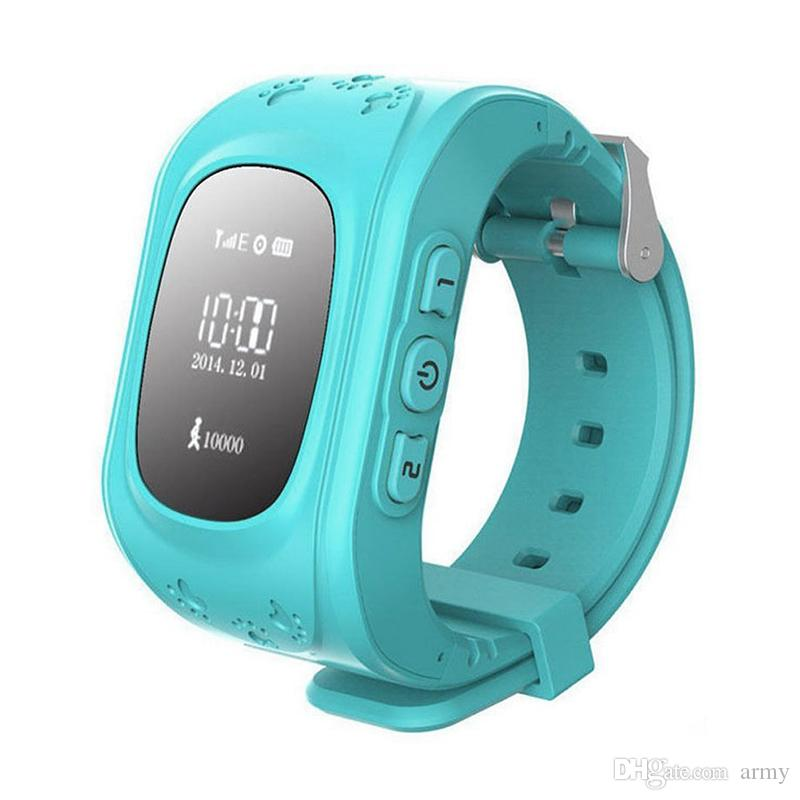 Q50 Kinder Smart Watch GPS LBS Doppel Ort Tresor Kinder beobachten Activity Tracker SOS-Karte für Android