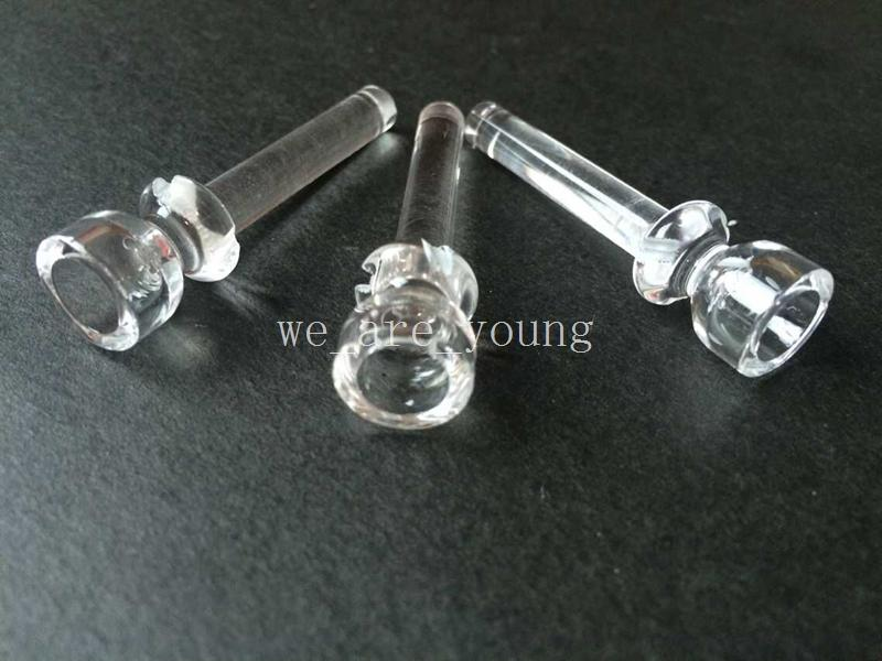 100% Quartz Nail 14mm or 18mm Domeless Quartz Nail for Water Pipes Oil Rigs Smoking