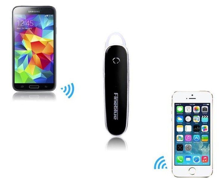 Stereo Voice Bluetooth Headphone FINEBLUE FX-2 Wireless Bluetooth 4..0 Earphone For iPhone Samsung HTC universal headphone (2)