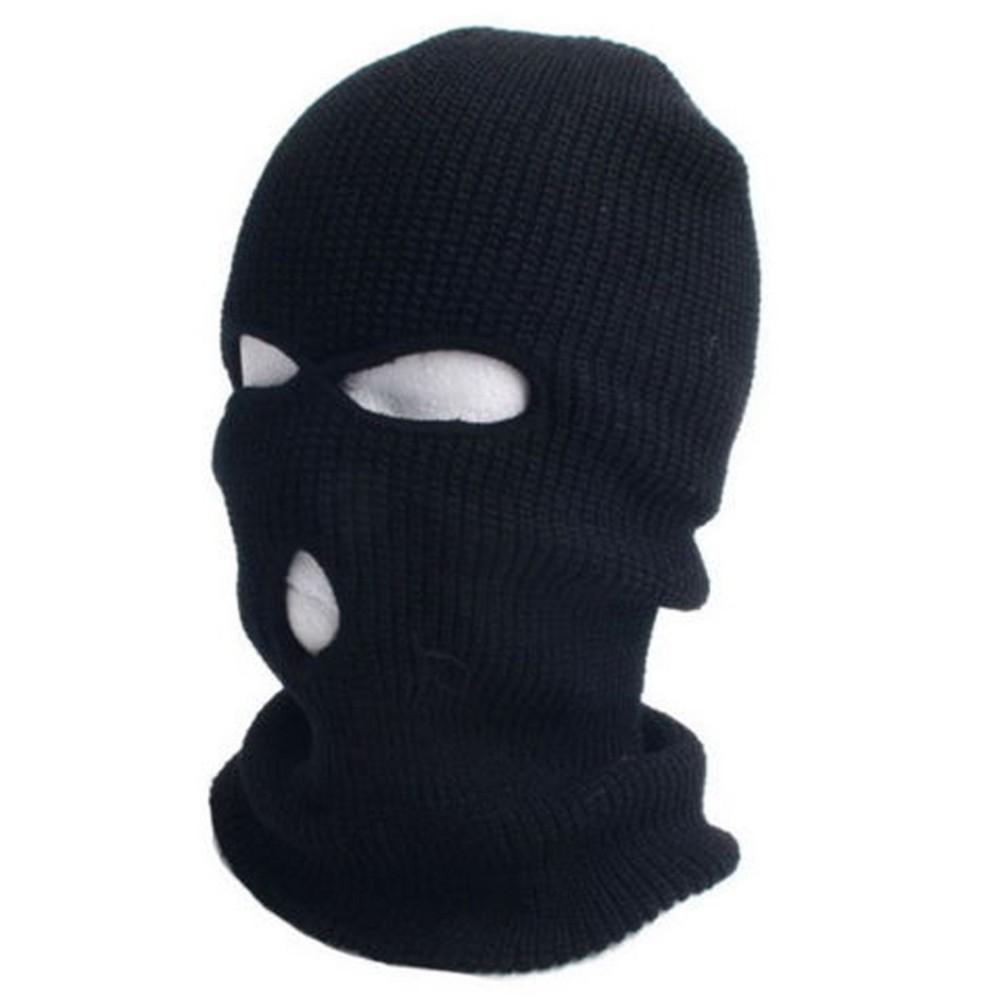 Online Cheap 2015 New Full Ski Mask Three 3 Hole Balaclava Knit Hat ...