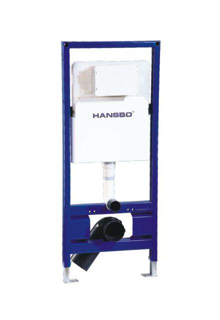 Unterputz-Spülkasten im Wandspültank für Wandtoilette für bodenmontierte WC-Hock- und Sitzwanne