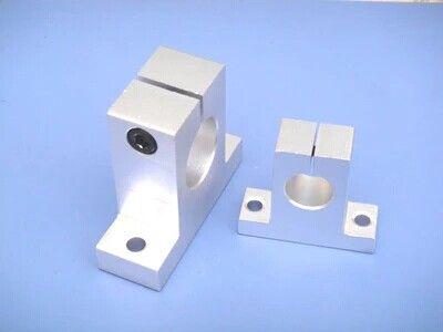 100 pz SK16 16mm supporto ferroviario lineare supporto albero CNC Router SH16A parti CNC