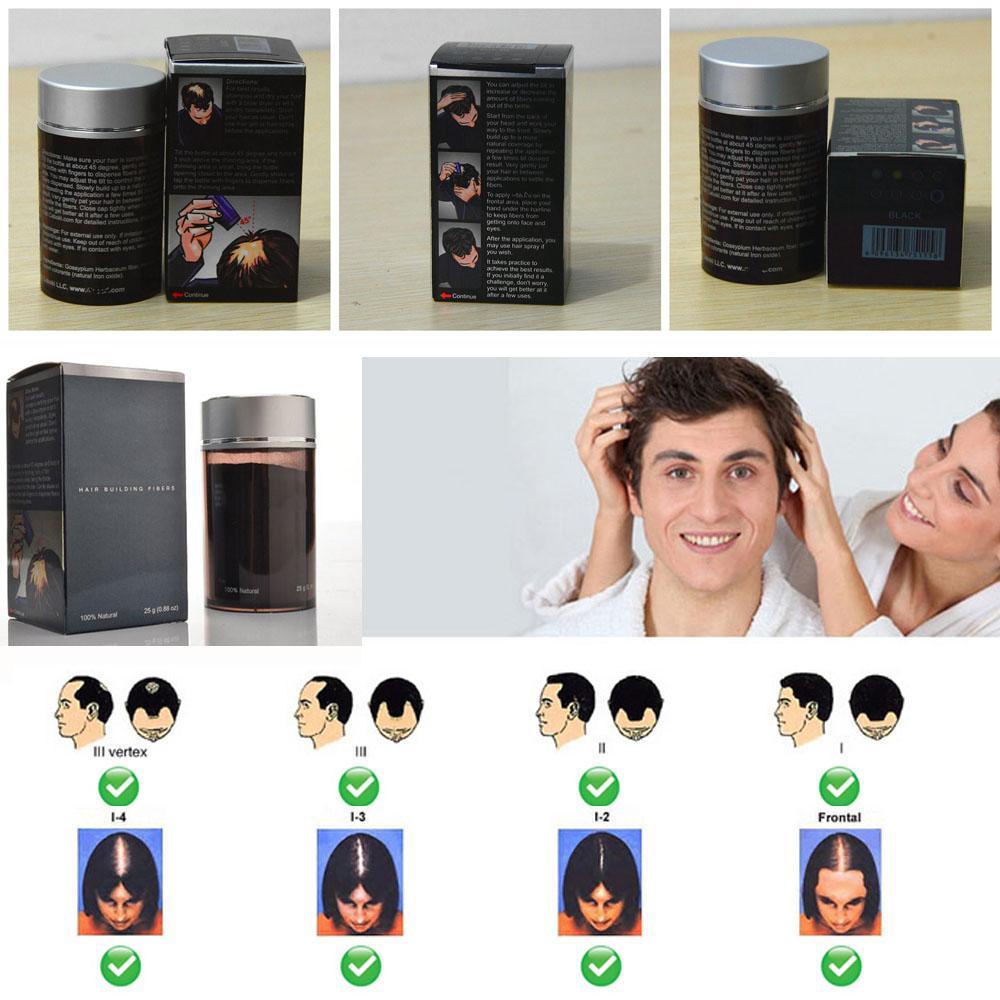 Cabo ki Hair Building Fibers Natural Keratin Full Series Colors Hair Loss Product Instant Restore Conceal 9g 25g for Men & Women Wholesale