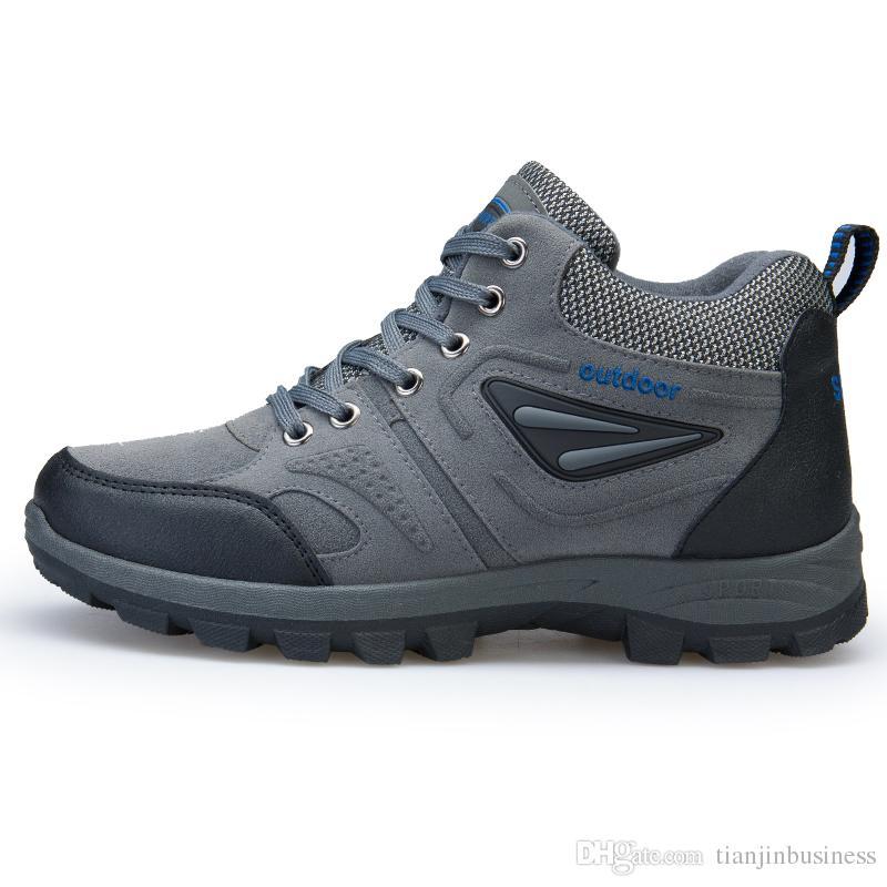 Boots Men Athletic Shoes Breathable