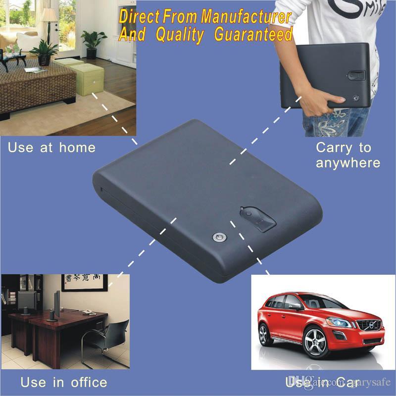 Großhandel Biometrische Fingerabdruck Handpistole Safe Box Von ...