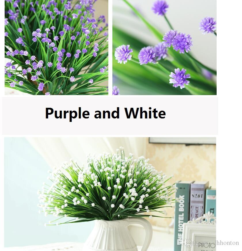 Country Style Gypsophila babysbreath Simulation flowers artificial flowers brews series desktop decoration wholesale free shipping SF1102