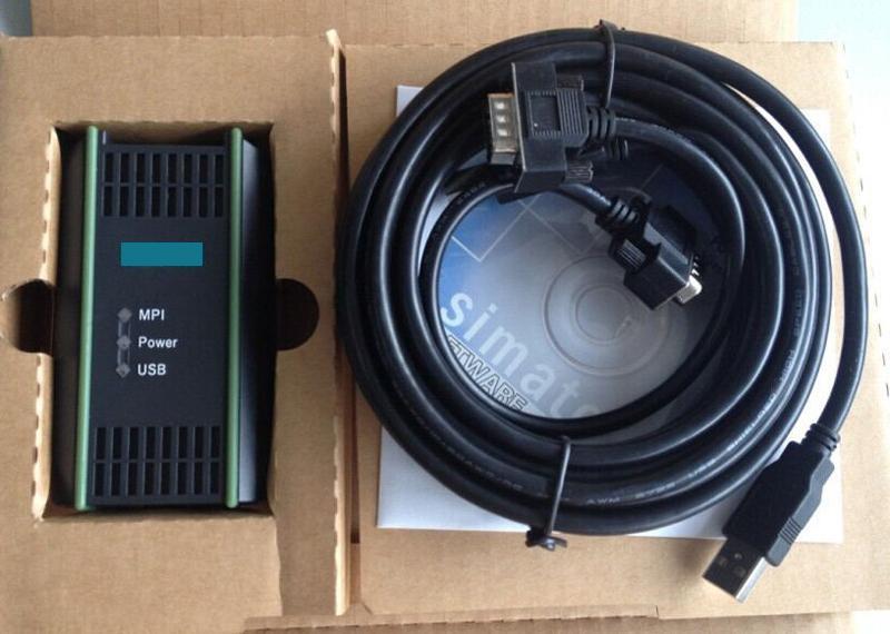 PLC Cable For Siemens S7 200//300//400 6ES7 972-0CB20-0XA0 USB-MPI PC USB-PPI US