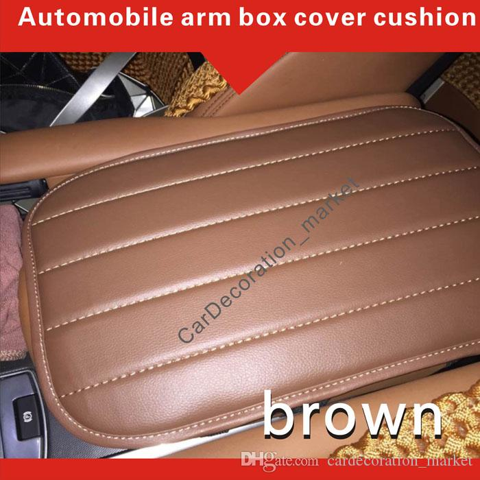 Almofada da tampa do descanso do braço da decoração do acessório interior Land Rover Range Rover Sport Centro do veículo Tampa da caixa do console almofada entre assentos de carro dianteiros