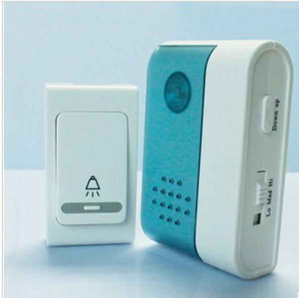 V004A Wireless Remote Control Digital Door bell Home Security Door bell 38 melody music Chime Alarm DC in retail package