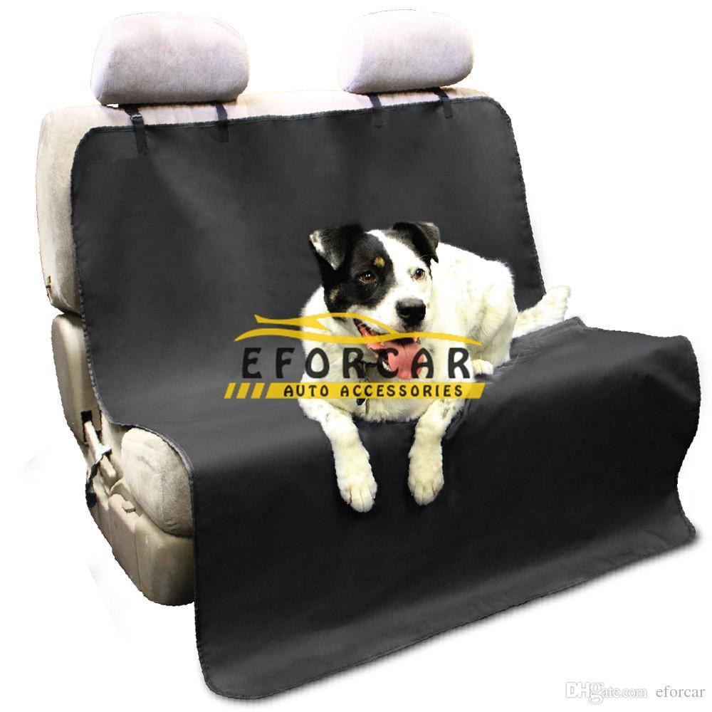 كلب القط مقعد سيارة يغطي ماء الكلب القط الحصير بطانية كلب القط سيارة المقعد الخلفي الناقل وسادة حامية