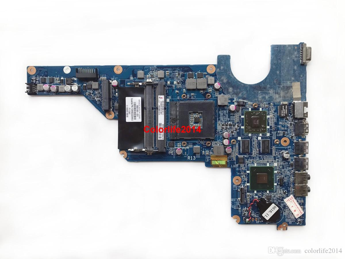 For HP Pavilion G4 G6 G7 650199-001 DA0R13MB6E1 HM65 PGA989 DDR3 HD6470 1GB Laptop Motherboard Mainboard Working perfect