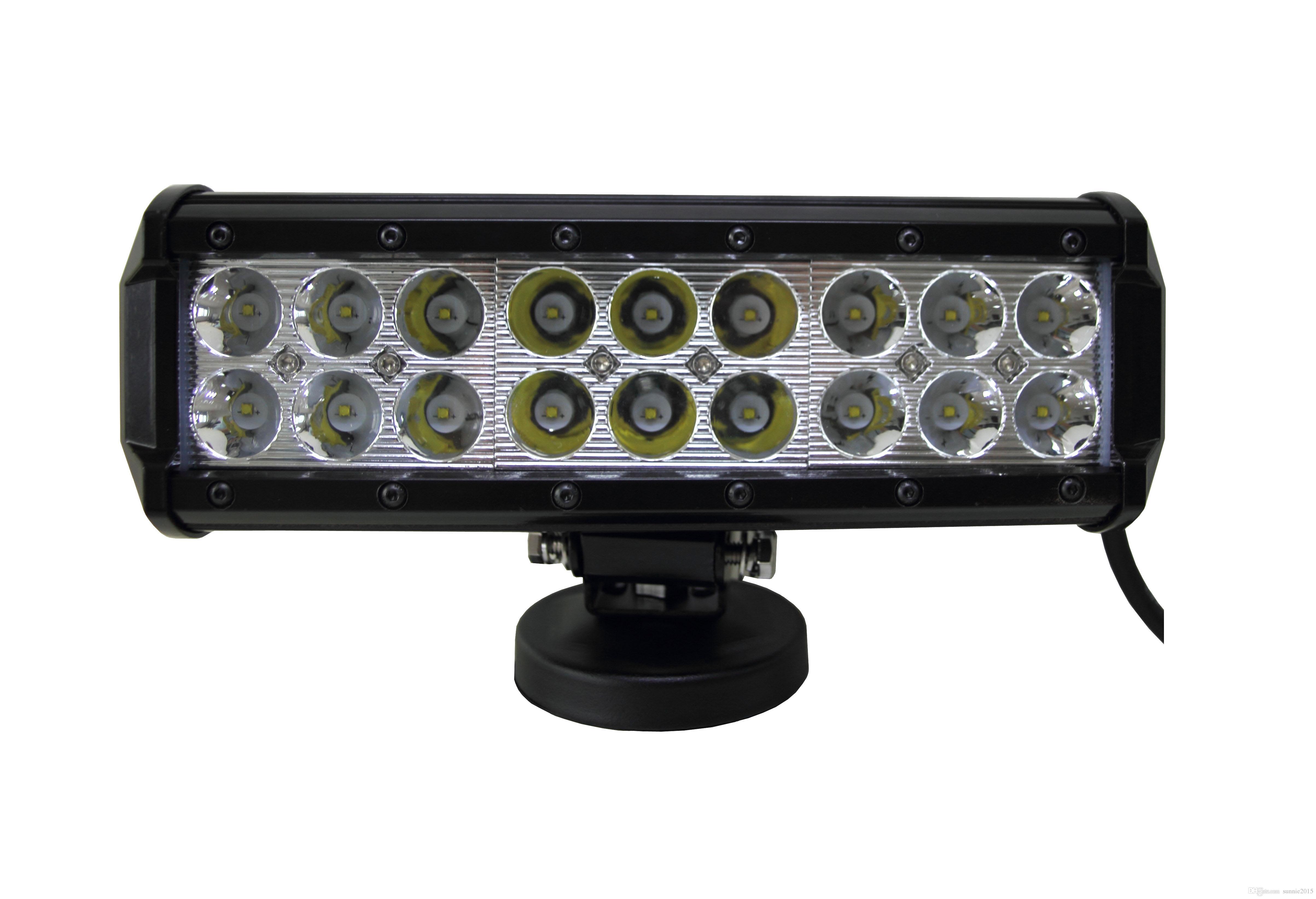 "Büyük indirim Yeni! 9 ""54 W CREE LED İş Işık Çubuğu SUV ATV 4WD Off-road 4x4 Tekne SUV UTE Off-road SPOT AKIŞ COMBO Işın 12 V / 24 V 4590lm"