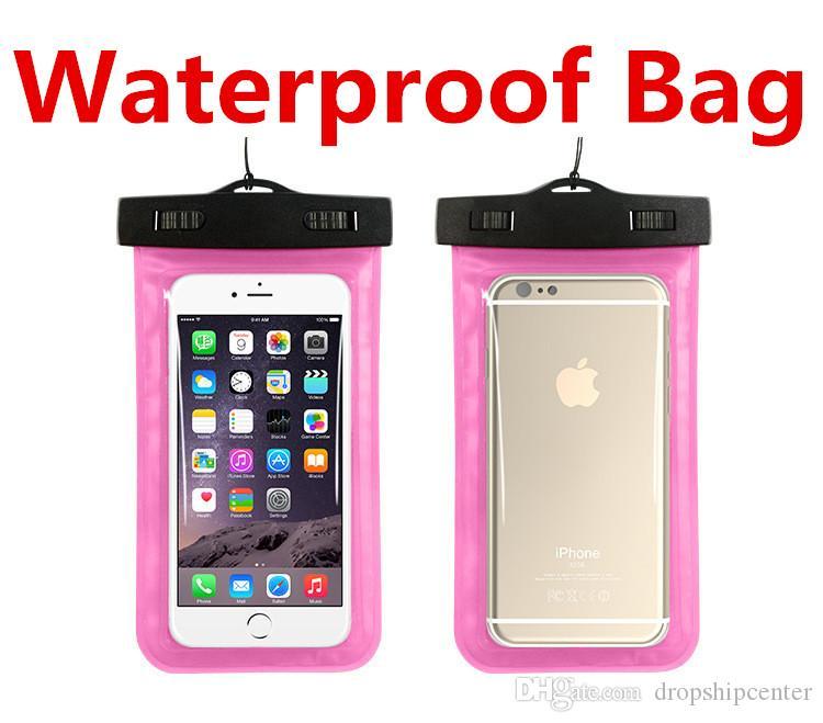株式会社スポーツダイビングポーチケースの防水バッグ普遍的なiPhone 6 Plus Samsungのための水道袋の水中ドライケースカバー