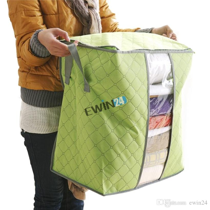 Storage Bags For Clothing Blanket Pillow Soft and Breathable Non-woven Fabrics New Box of 240pcs free shipping