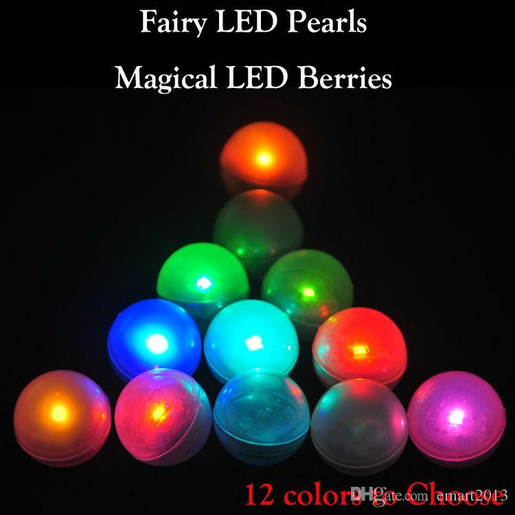 High Quality 1200pcs/lot Waterproof LED Berries Lights for Wedding Christmas Decorations Function Fairy Pearls DHL Free Shipping