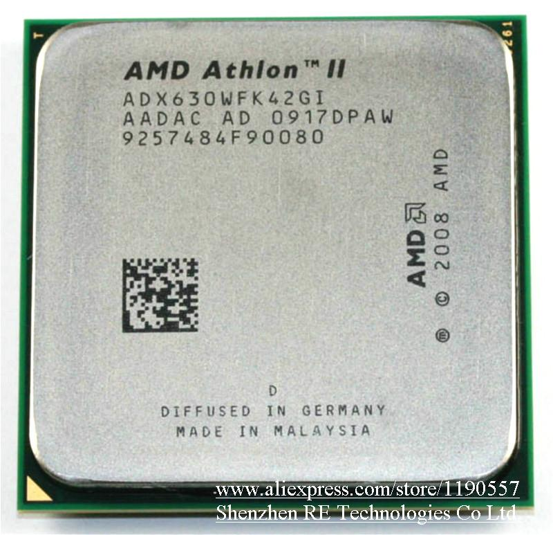 Processeur AMD Athlon X4 630 (2,8 GHz / 2 Mo / Quad-Core) Socket AM3 Desktop CPU