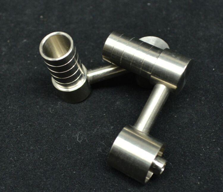 Female 10mm domeless titanium nail NEW
