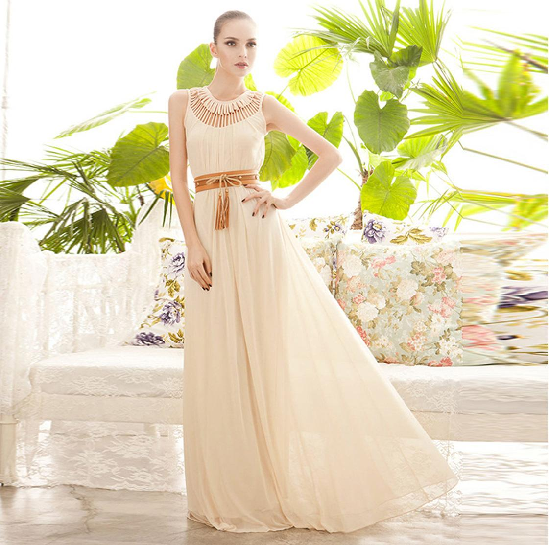 New runway dress women plus size maxi sexy long banquet embroidered mermaid round neck dress flower hollow hierarchy 2016 wedding dresses
