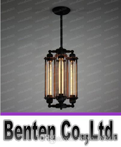 AC100-240V 4pcs T30 Edison лампа старинные железные люстры Rh лофт панк-мода металл chandeliershanging лампа люстры домашний светильник LLFA4760F