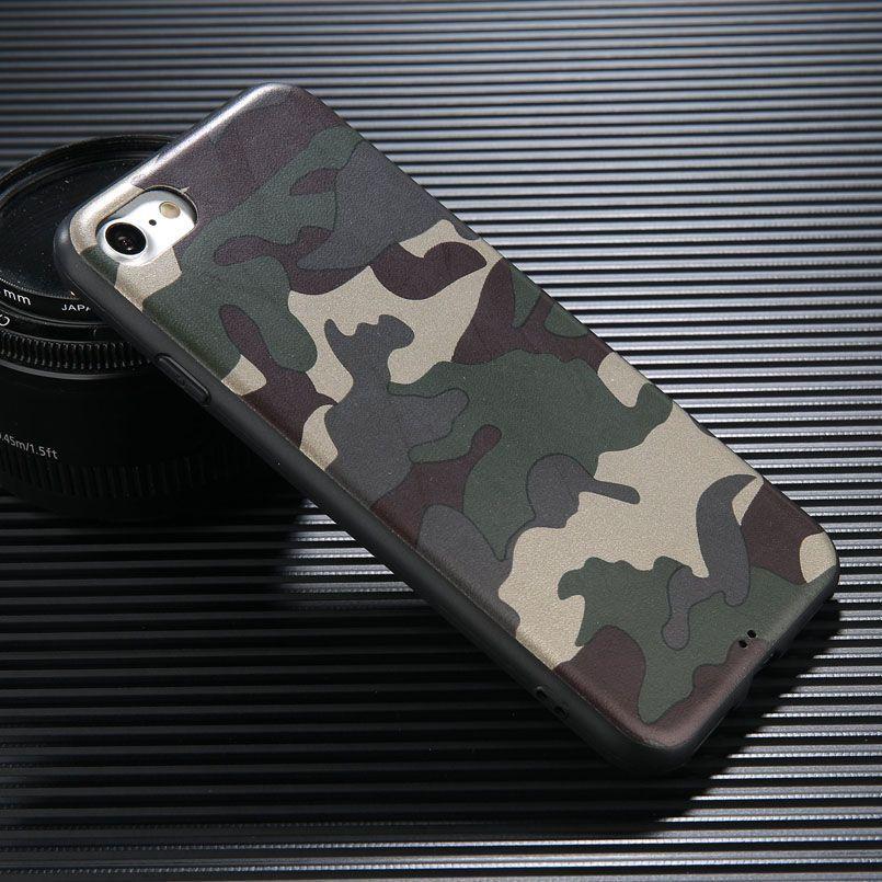 Армия Камуфляж Camo чехол для IPhone 11 Pro Max X XS MAX XR-7 7Plus 6 6s Plus Военной Обложка