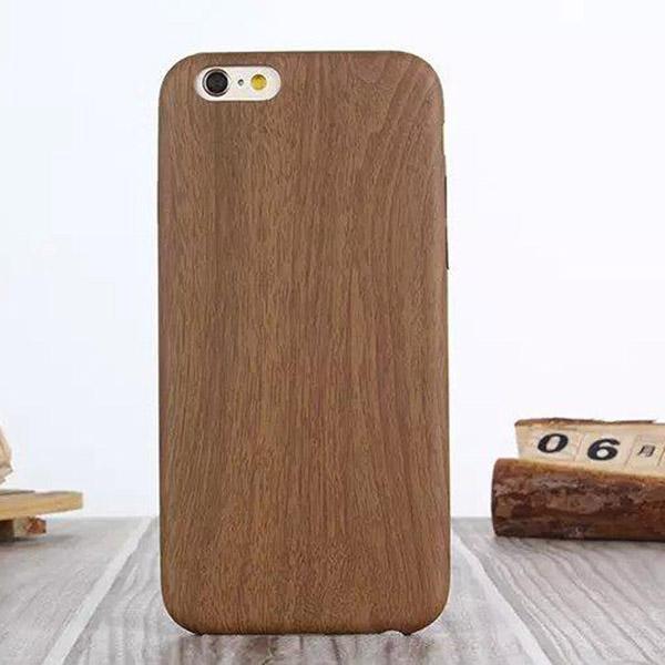 0a001dc0ea9 Accesorios Para Celulares Genuina De Madera Natural De Bambú De Madera  Cubierta Dura Caso Trasero Para El IPhone 5 5S 6 6plus Samsung S6 S6edge  Teléfono ...