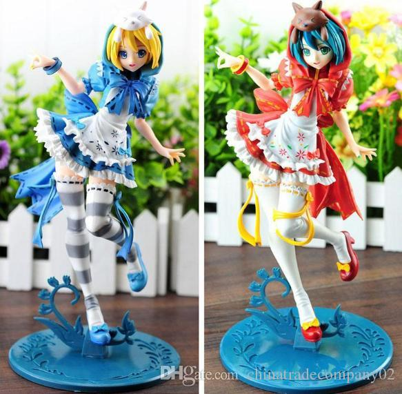 Anime Hatsune Miku Red Riding Hood Project DIVA 2nd PVC Action Figure Model Toy