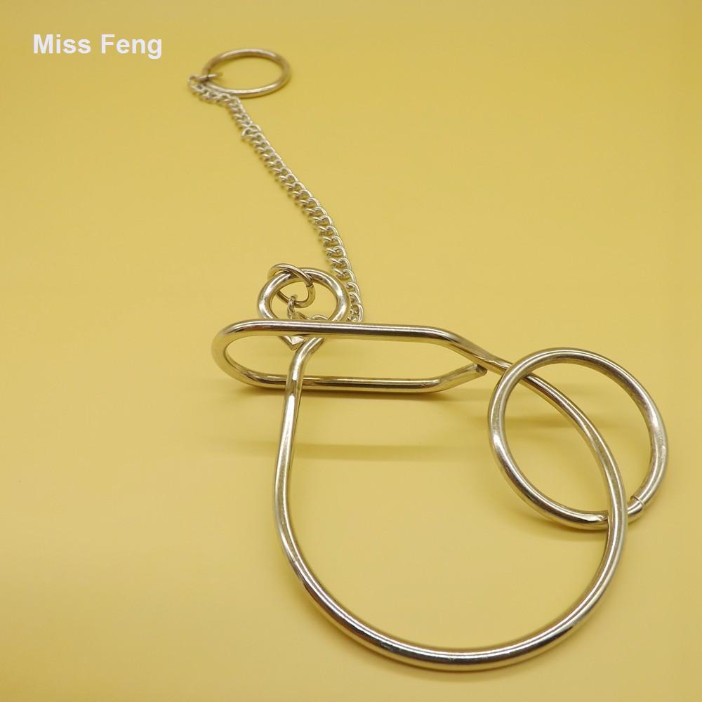 Big Snail Ring Puzzle Wire Truque Mágico Anel Solução Jogos para Crianças Presentes
