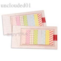 Wholesale-New160 صفحات ملصق اللوازم المدرسية أعلام مذكرة الوسادة البسيطة مثبت ملاحظات مذكرة الوسادة
