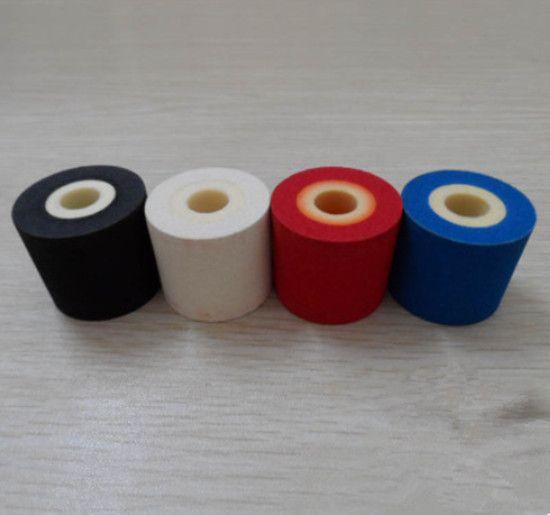 36 * 32mm Enerji Tasarrufu Sıcak Baskı Mürekkep Rulo 380f Mürekkep Kodlama Makinesi için Sona Erme Tarihi / Parti No. kırmızı, siyah, mavi ve beyaz
