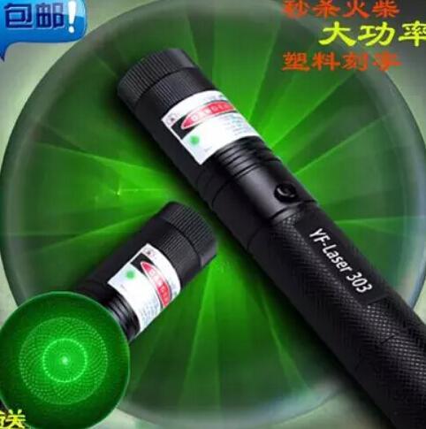 Lazer Pointer Pen 1000000, SD 303 Yeşil Lazer Pointer, Dropshipping