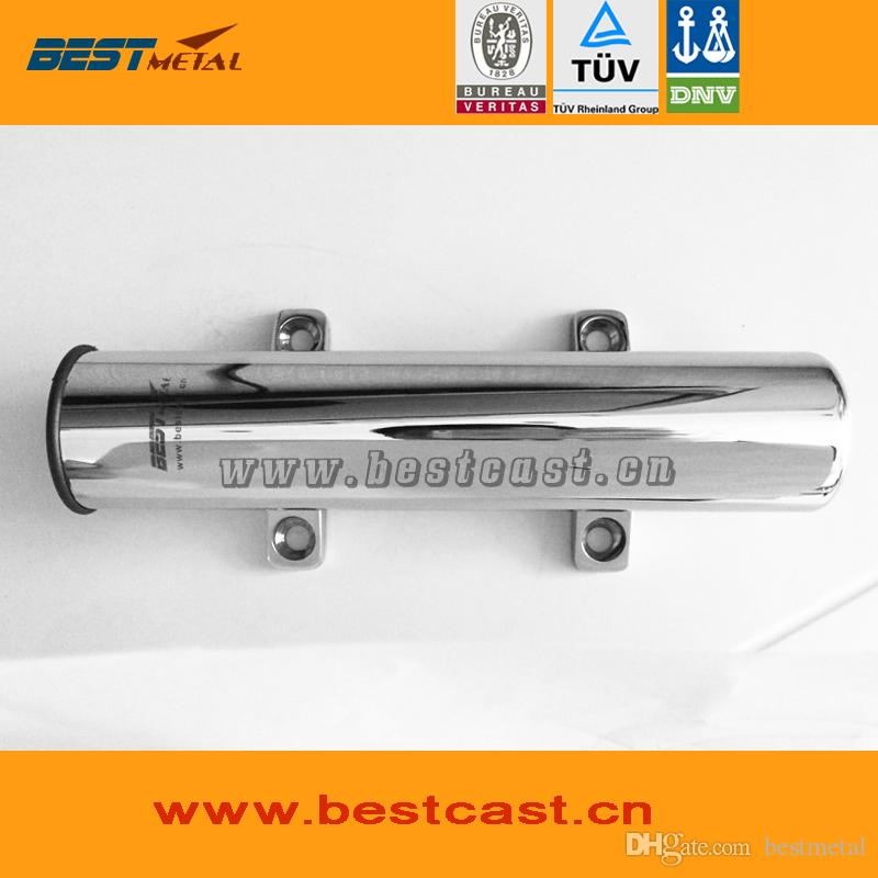 BEST METAL stainless steel 316L mirror polish marine hardware of fishing rod holder for boat or yacht fishing