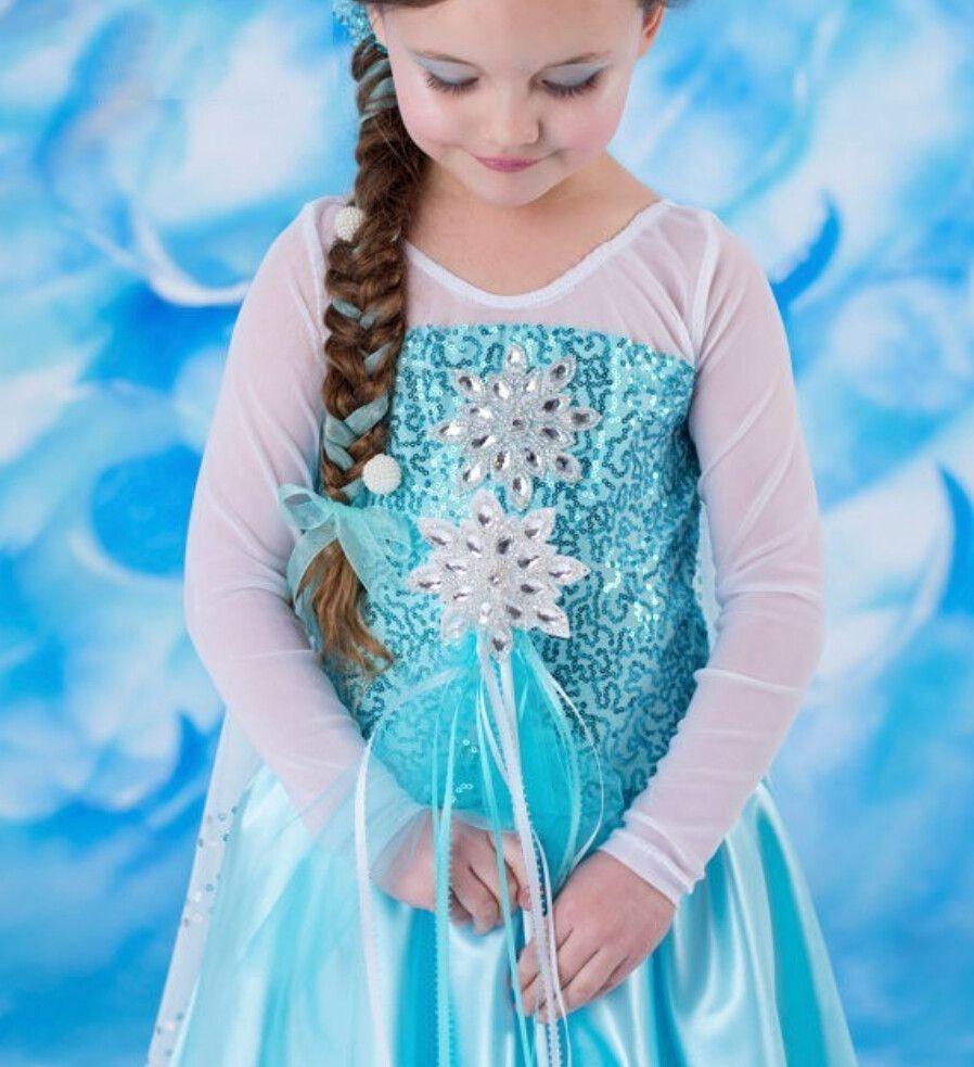New 2015 Frozen Movie Princess Elsa Anna Costume Halloween Cosplay ...