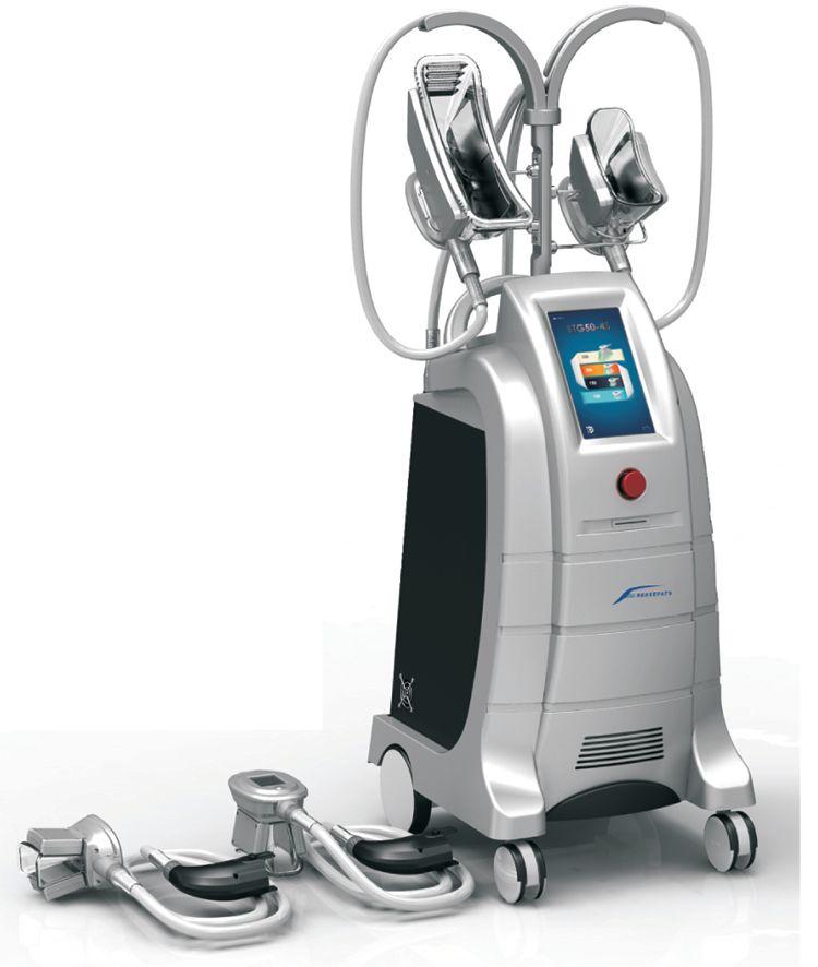 Sıcak Satış Dört Kolları Etkili Cryo Makinesi Cryo Vücut Şekillendirici Yağ Donma Vakum Cryotherapy Zayıflama Ekipmanları Salon Kullanımı Için