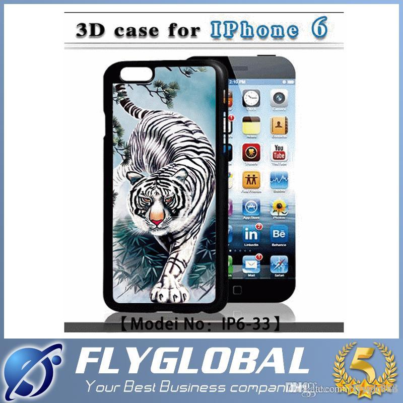 For iPhone5 5s 6 6Plus Galaxy Samsung S6 Phone Cases With 3D Drawing Red Racing Car Wolf Lion Sexy Lady Drawing Plastic Cover Protective DHL
