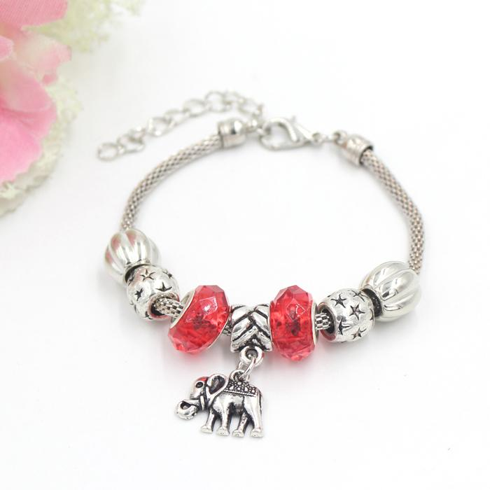 Free Shipping New Arrival Animal Jewelry Elephant Charm Bracelet Charms Bracelets