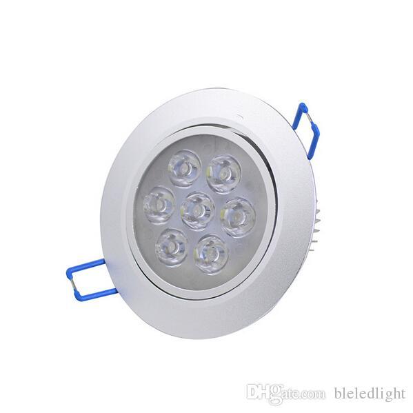 工場卸売7W LEDダウンライト110V 220V埋め込み調整可能なLEDダウンライトLEDオフィス照明器具CE送料無料