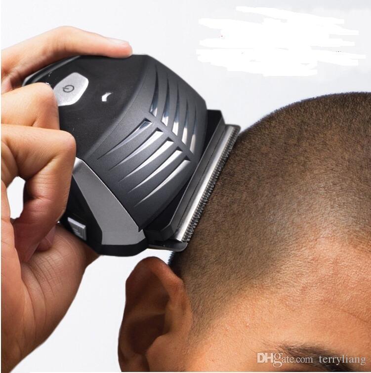 Profissional elétrico adulto cortador de cabelo diy cortador de cabelo curto auto ferramenta de corte trimmer li-on bateria homem máquina de cortar cabelo aparador