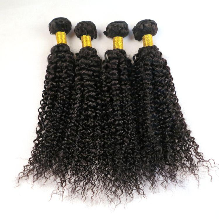 Vison Cheveux Vierges Armures Brésiliens Faisceaux de Cheveux Humains Eau Vague Trames 8-34 Pouces Non Transformés Péruvienne Indienne Mongole Vierge Extensions de Cheveux