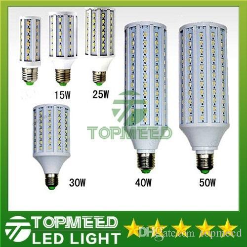 Epacket 주도 옥수수 빛 E27 E14 B22 SMD5630 85-265V 12W 15W 25W 30W 40W 50W 4500LM LED 전구 360도 LED 조명 램프 (55)