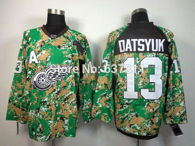 Detroit Red Wings 13 camo